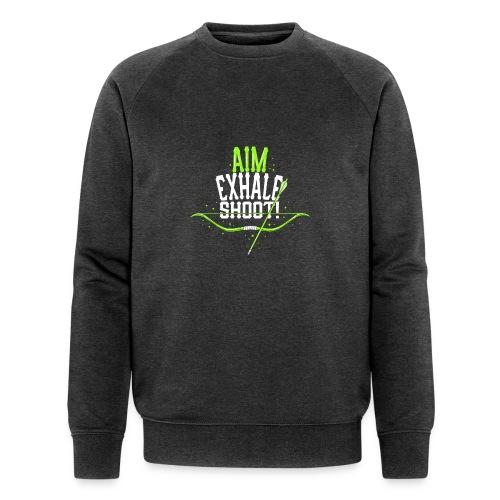 Bogenschütze - Männer Bio-Sweatshirt von Stanley & Stella