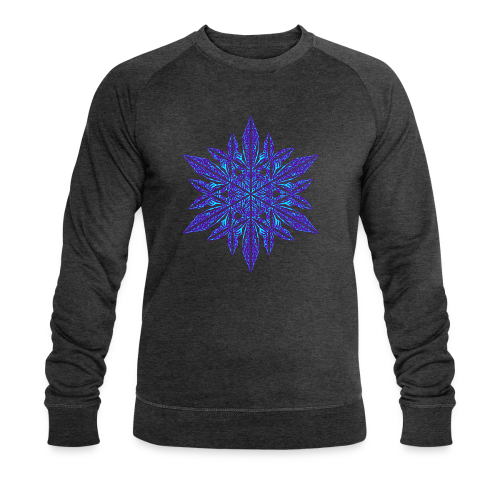 Schneeflocke II - Männer Bio-Sweatshirt von Stanley & Stella