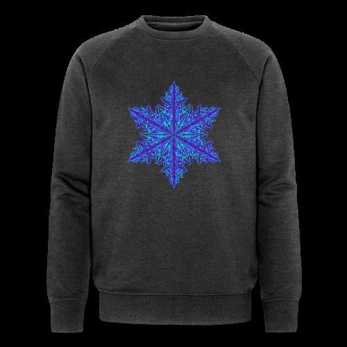 Schneeflocke III - Männer Bio-Sweatshirt von Stanley & Stella