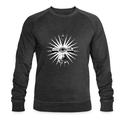 Blues Is The Truth - white star - Men's Organic Sweatshirt by Stanley & Stella
