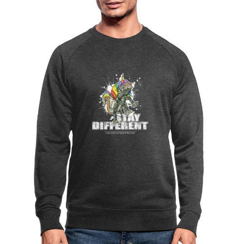 Stay Different - Imperial Unicorn - Männer Bio-Sweatshirt