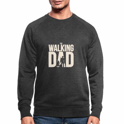 The walking Dad - Design für die besten Väter - Männer Bio-Sweatshirt