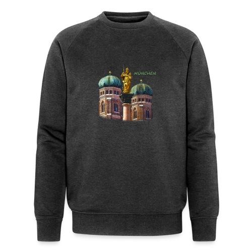 München Frauenkirche - Männer Bio-Sweatshirt