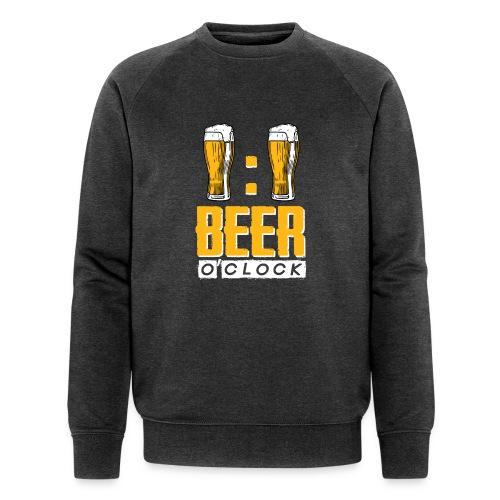 BEER O'Clock - Männer Bio-Sweatshirt von Stanley & Stella