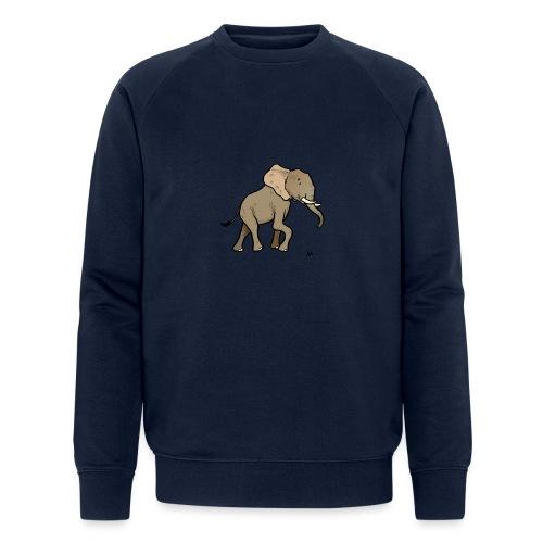 Afrikansk elefant - Økologisk sweatshirt for menn fra Stanley & Stella