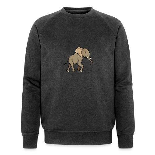 African Elephant - Men's Organic Sweatshirt by Stanley & Stella