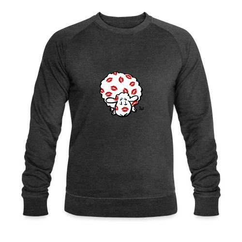 Kiss Ewe - Men's Organic Sweatshirt