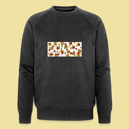 merry-christmas Logo Geschenk - Männer Bio-Sweatshirt von Stanley & Stella