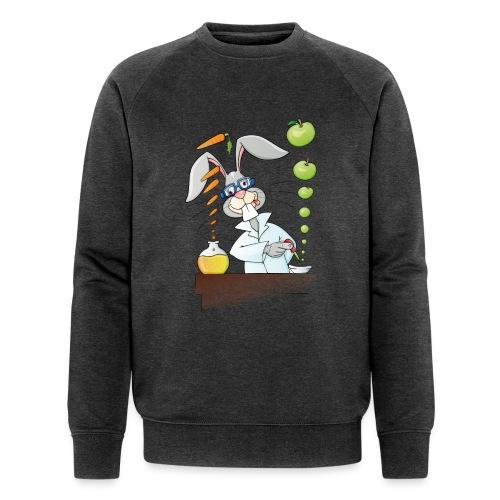 Versuchskaninchen - Männer Bio-Sweatshirt