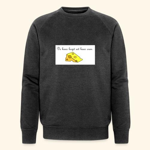 Kaas loopt uit haar oren - Temptation - Mannen bio sweatshirt van Stanley & Stella