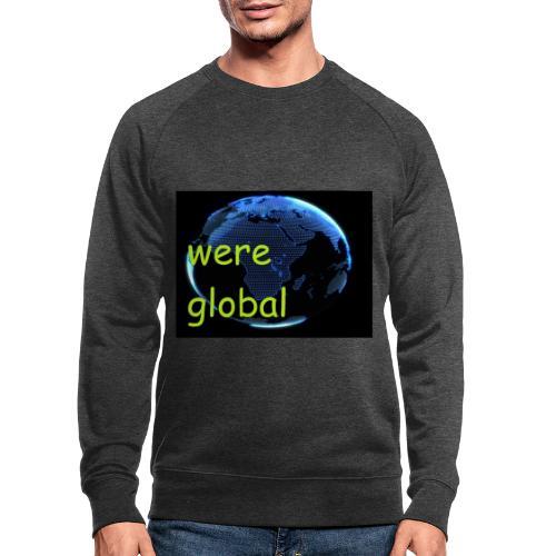 Were Global - Miesten luomucollegepaita