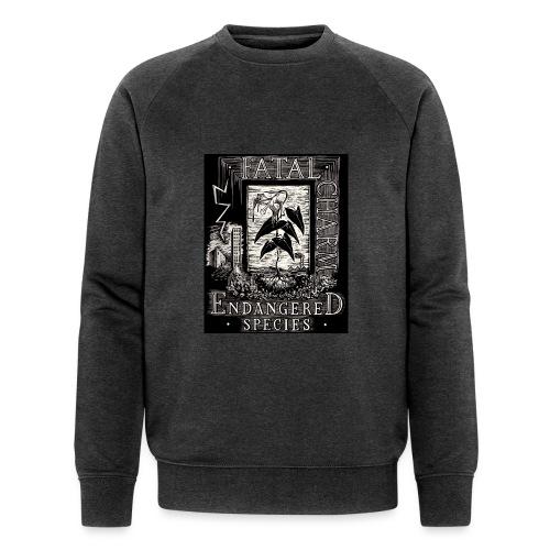 fatal charm - endangered species - Men's Organic Sweatshirt by Stanley & Stella