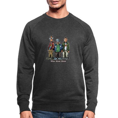 Slim Slam Slum Classic - Økologisk sweatshirt til herrer
