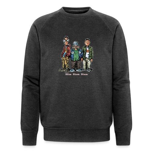 Slim Slam Slum Classic - Økologisk Stanley & Stella sweatshirt til herrer