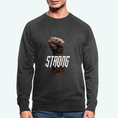 Strong - Männer Bio-Sweatshirt von Stanley & Stella