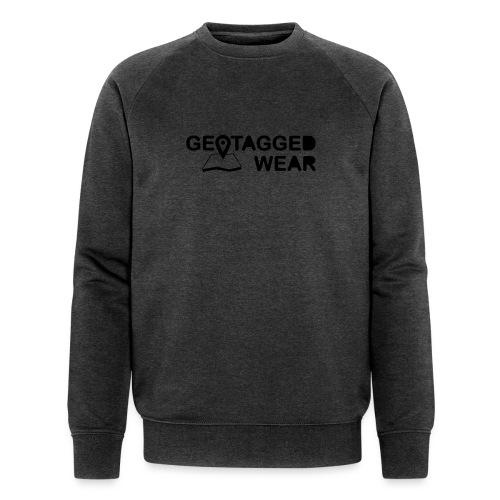 Geotagged Wear Signature Logo - Männer Bio-Sweatshirt von Stanley & Stella
