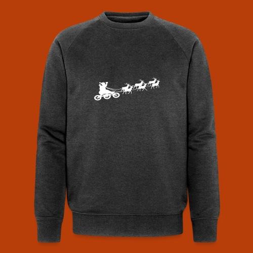 Ho Hoo Weihnachts Rentier Skate - Männer Bio-Sweatshirt