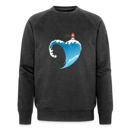 Ostseeherz - Männer Bio-Sweatshirt von Stanley & Stella