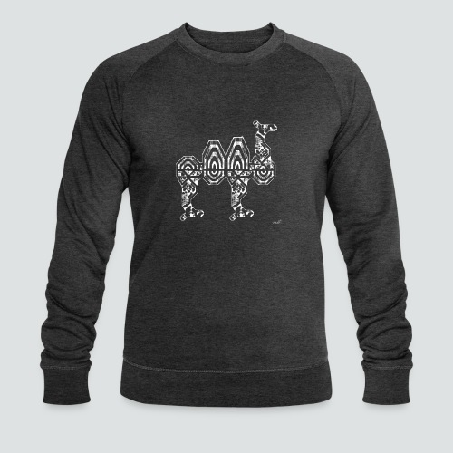 Trampeltier png - Männer Bio-Sweatshirt