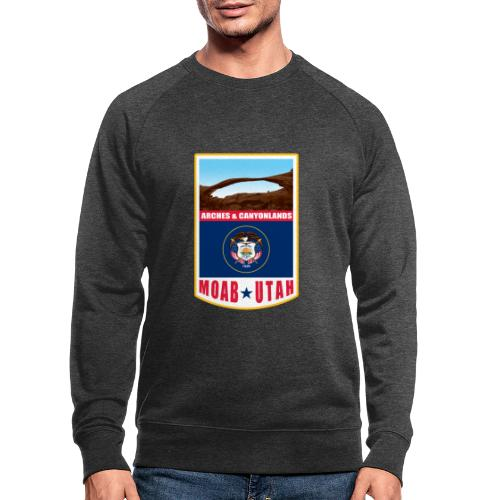 Utah - Moab, Arches & Canyonlands - Men's Organic Sweatshirt