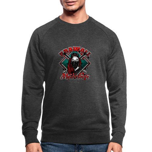 Krawallmädchen - Männer Bio-Sweatshirt