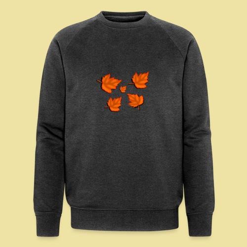Herbstblätter - Männer Bio-Sweatshirt von Stanley & Stella
