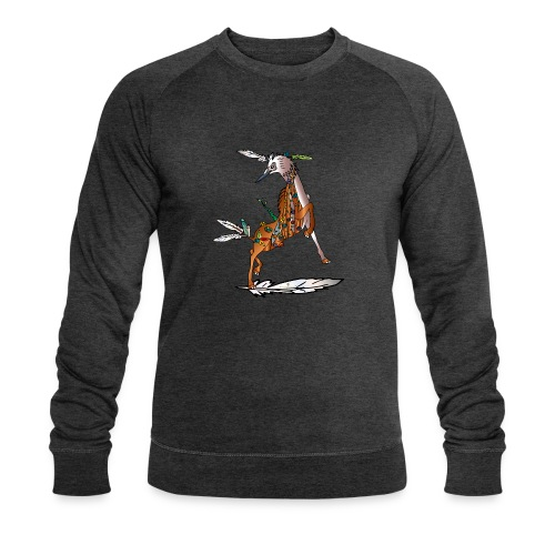 Energiewesen Vagio - Männer Bio-Sweatshirt