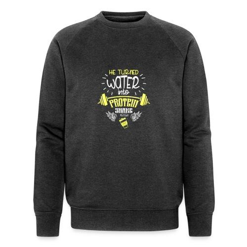 workout protein shake - Männer Bio-Sweatshirt von Stanley & Stella