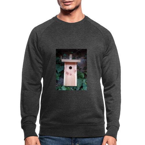 Der Nistkasten - Luxus für den Garten-Vogel - Männer Bio-Sweatshirt