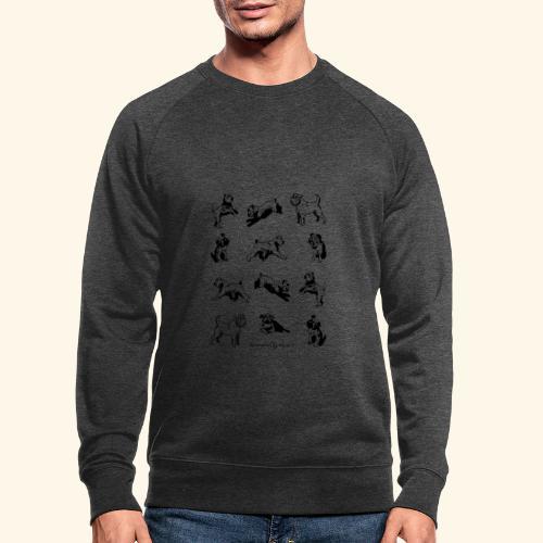 Brussels Griffon pattern - Sweat-shirt bio