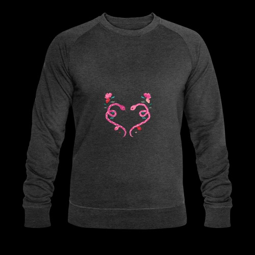 Coeur de serpents - Sweat-shirt bio