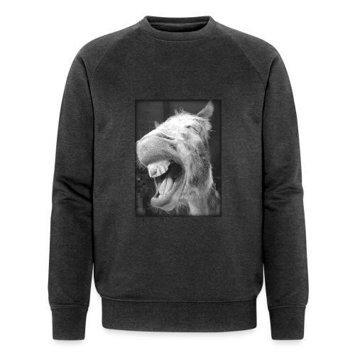 lachender Esel - Männer Bio-Sweatshirt von Stanley & Stella
