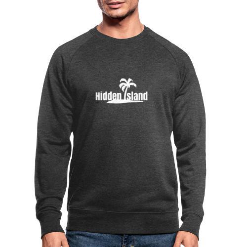 Hidden Island - Männer Bio-Sweatshirt