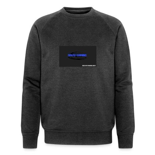 Schwarzes logo4 - Männer Bio-Sweatshirt