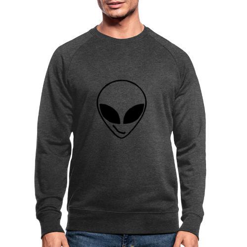 Alien simple Mask - Men's Organic Sweatshirt by Stanley & Stella
