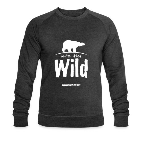 Into the wild (version light) - Sweat-shirt bio