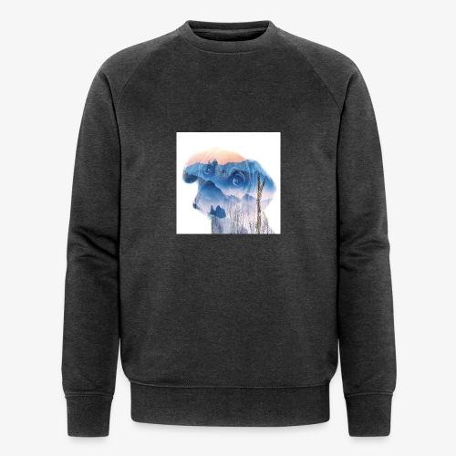 Süsser Hund - Männer Bio-Sweatshirt