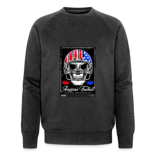 hodeskalle - Økologisk sweatshirt for menn