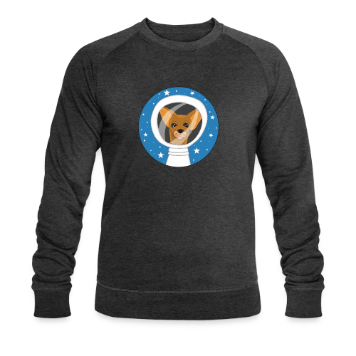 Fifi der Hunde Astronaut im Weltall - Männer Bio-Sweatshirt von Stanley & Stella