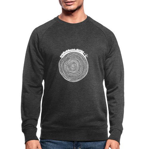 Kattoo Weiß - Männer Bio-Sweatshirt