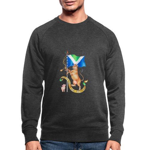 Vegan flag design by Maria Tiqwah - Men's Organic Sweatshirt