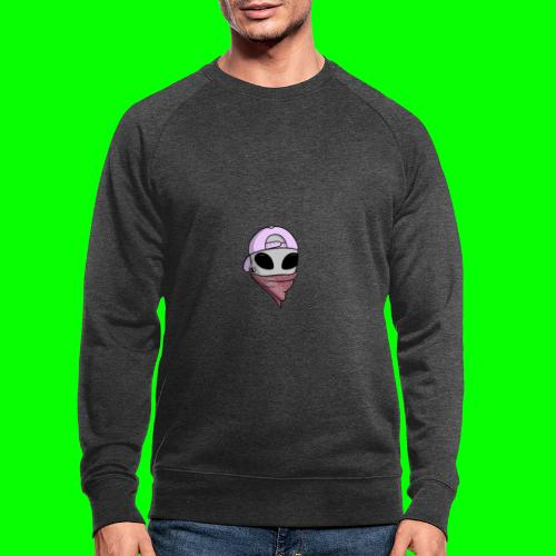 gangsta alien logo - Felpa ecologica da uomo