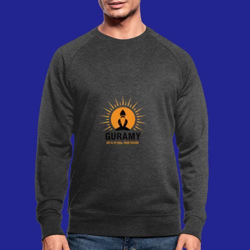 final nero con scritta - Men's Organic Sweatshirt