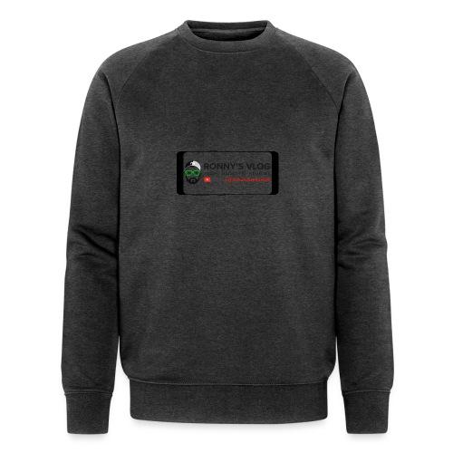 Galaxy S8 by Ronny's Vlog - Männer Bio-Sweatshirt