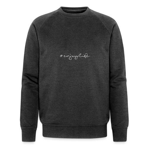 #enjoylife - Männer Bio-Sweatshirt von Stanley & Stella