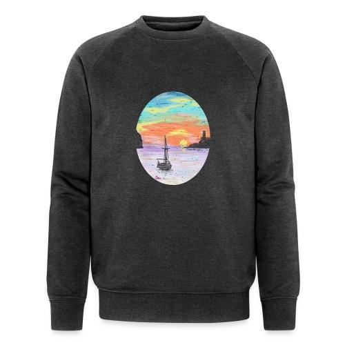 Port de Sollers Sonnenuntergang - Männer Bio-Sweatshirt von Stanley & Stella