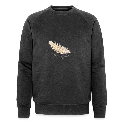 EngelFeder Love - Männer Bio-Sweatshirt von Stanley & Stella