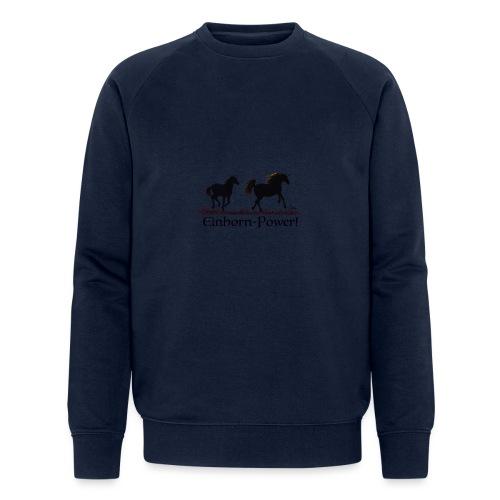 Einhorn-Power - Männer Bio-Sweatshirt von Stanley & Stella