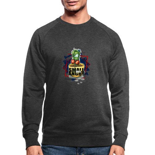 small but angry - Männer Bio-Sweatshirt