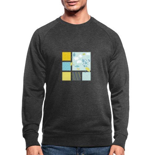 Sommerregen Liebe - Männer Bio-Sweatshirt